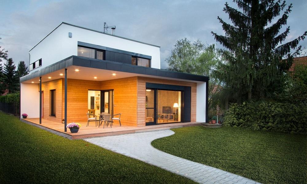 Dům pod smrkem v Černošicích – vítěz soutěže Pasivní dům 2016