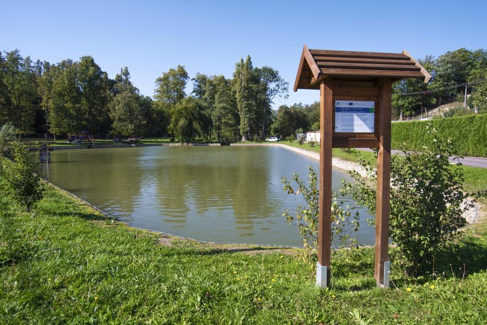 Citonice-rybník Skalka mokřady a revitalizace potoka