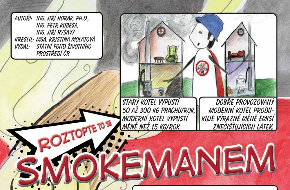 Komiks Smokeman 2018