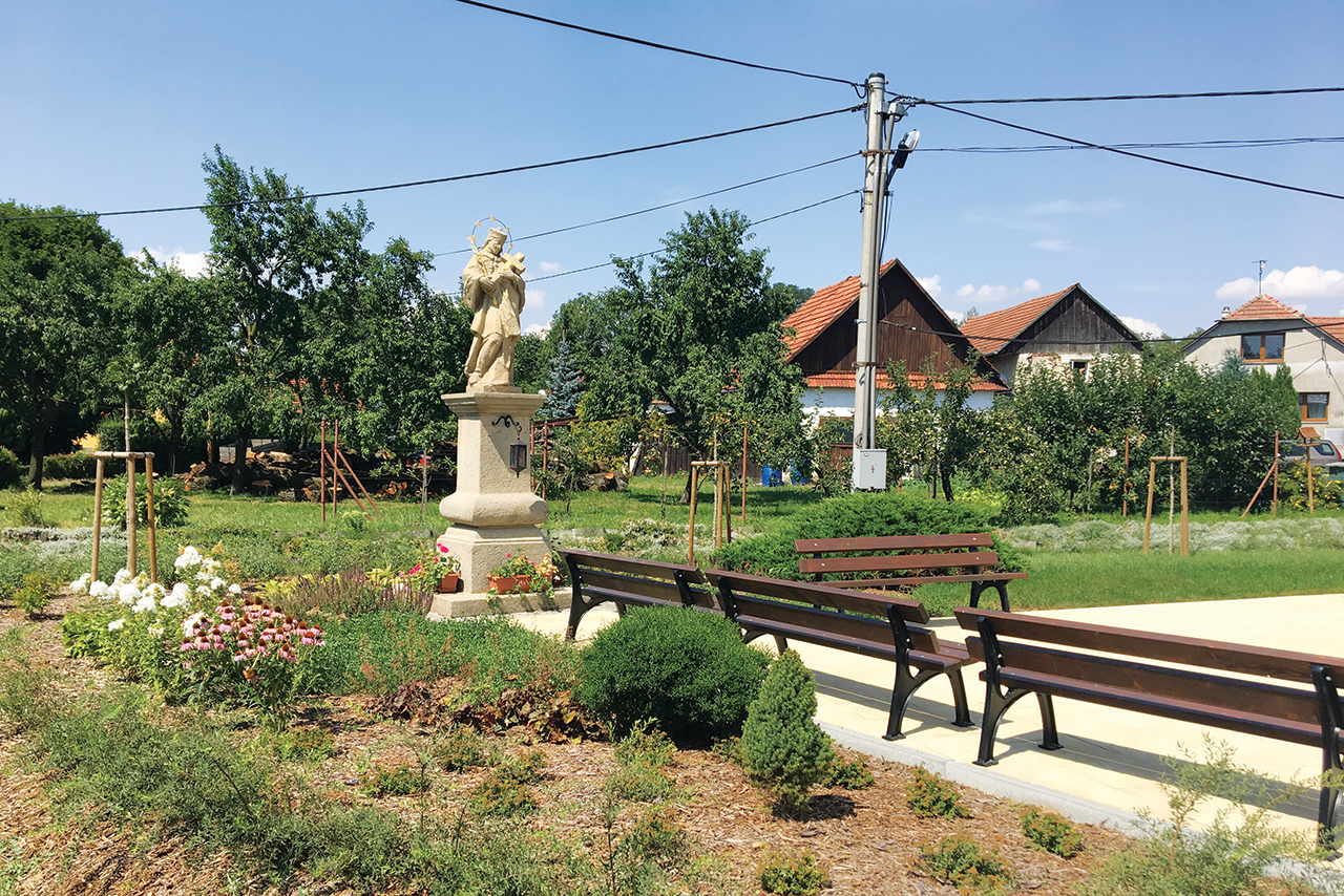 Býškovice_Obnova parku