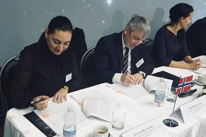 Norské fondy – podpis Programové dohody – únor 2019